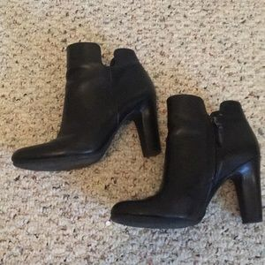 Sam Edelman Heel Bootie, black leather